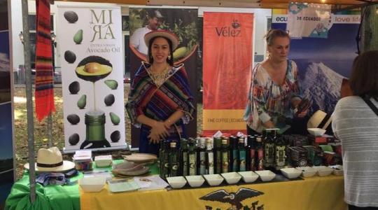 Exitosa participación del Ecuador en Festival de Embajadas en La Haya