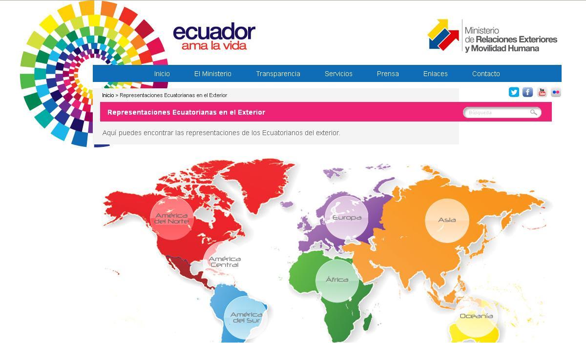 Relaciones exteriores ecuador related keywords relaciones exteriores ecuador long tail for Ministerio relaciones exteriores ecuador